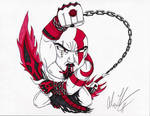 Red Lantern Kratos
