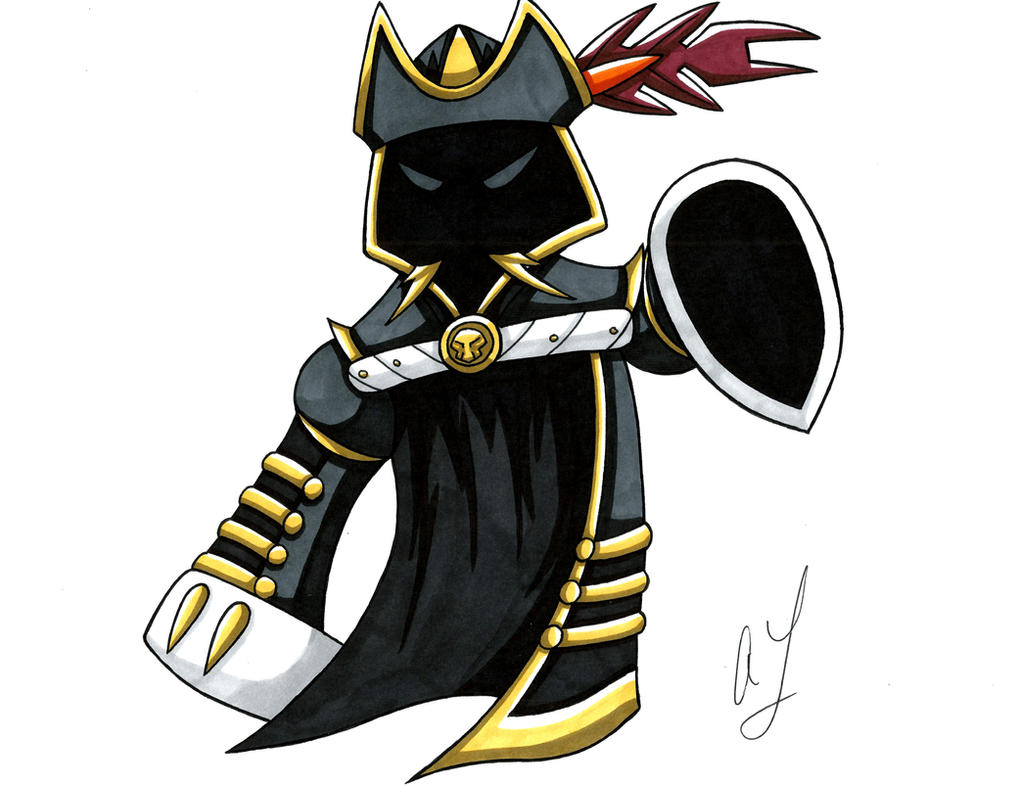 Kamen Rider Blackbeard Parka Ghost by toonartist