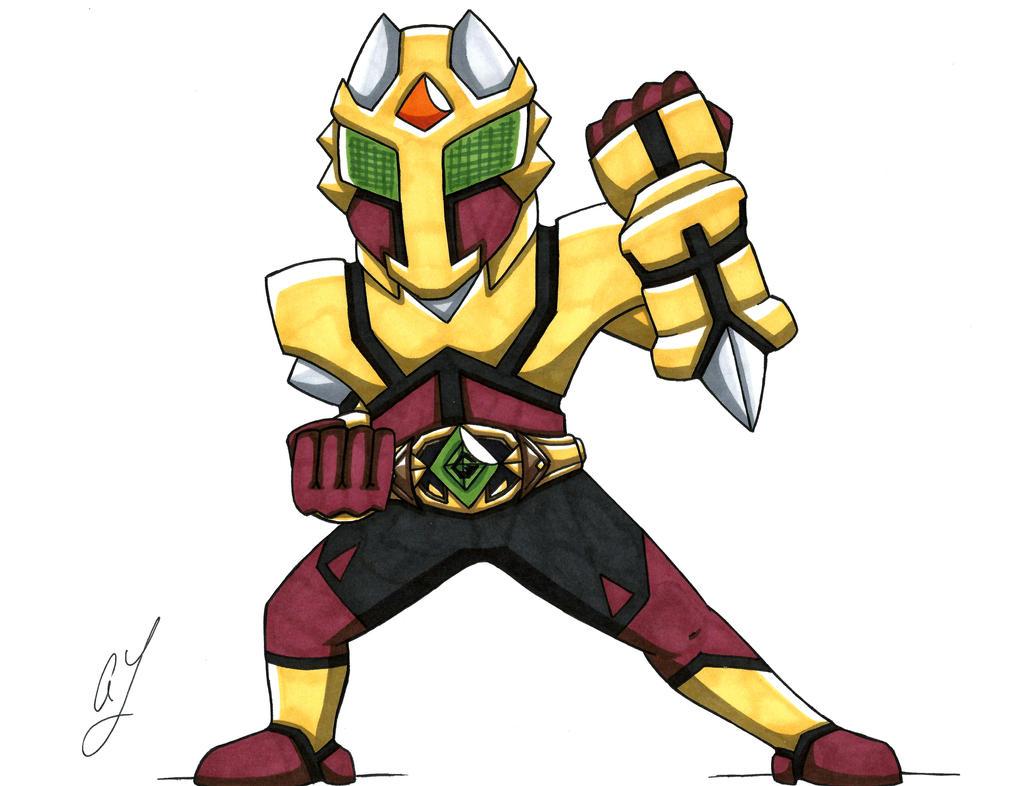 Kamen Rider GeOh by toonartist