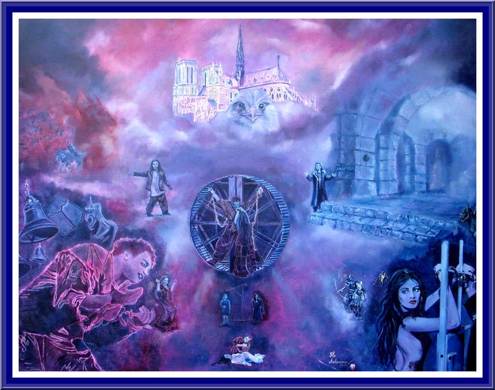 ...Notre Dame de Paris... by floriaiglenoir