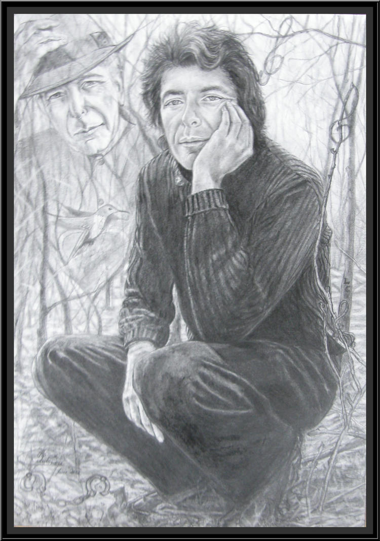 ...Leonard Cohen... by floriaiglenoir