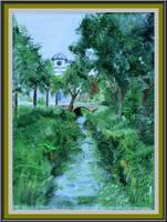 little river by floriaiglenoir