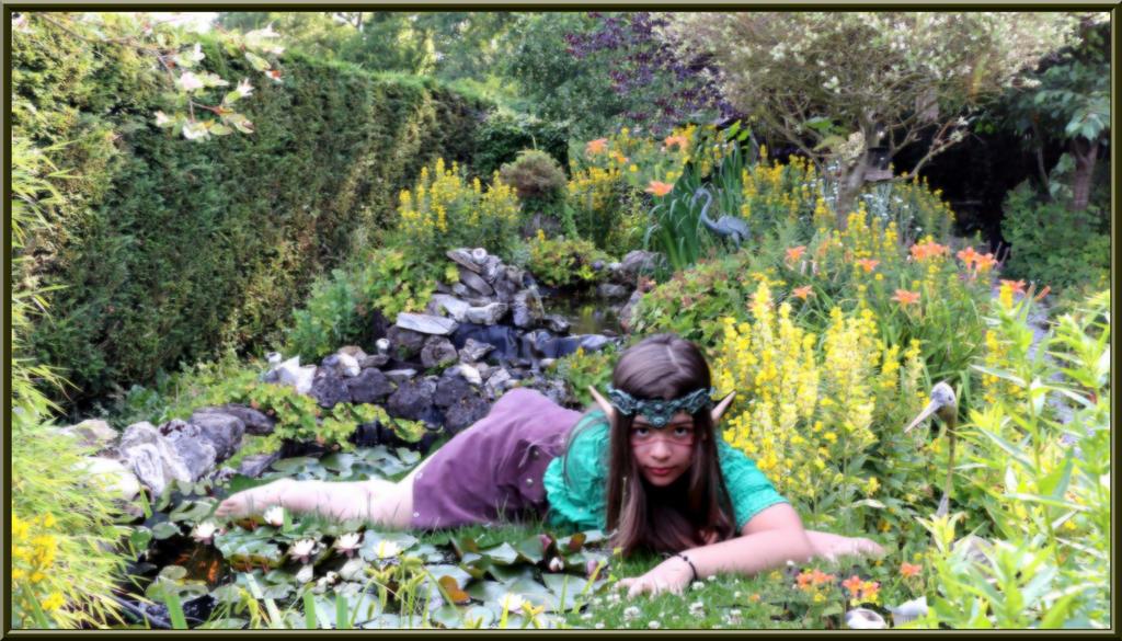 little garden elf by floriaiglenoir - Little Garden