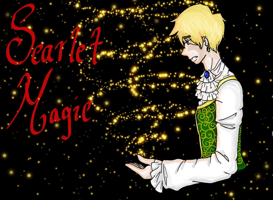 Scarlet Magic Cover :Arthur: by jay1892