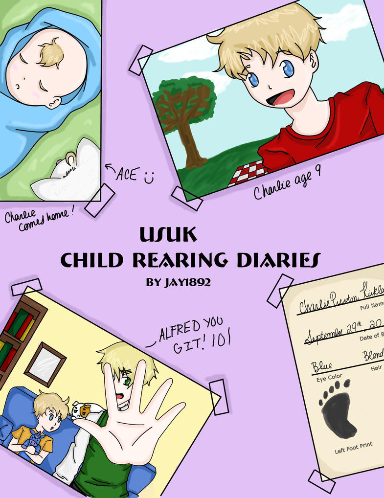 USUK CRD  Cover -Charie ed.- by jay1892
