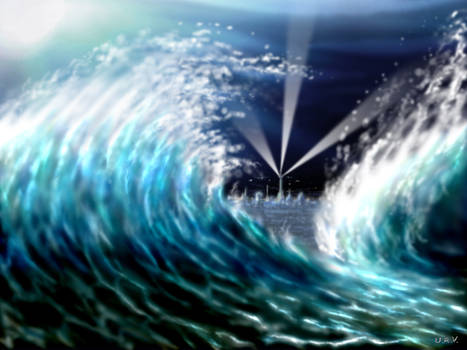 Underwater waves