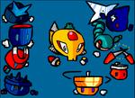 Mega Man 3 Emoticons