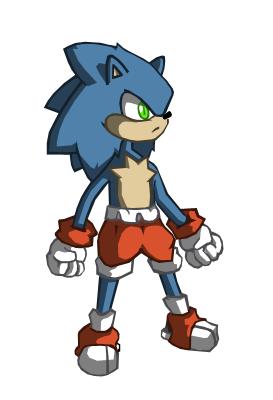 Slightly Older Sonic? by globepb