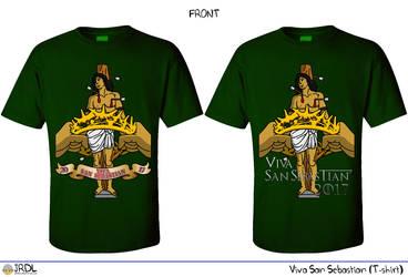 Viva San Sebastian 2016 T-shirt design by jrdl30