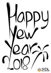 Happy New Year 2018 by jrdl30