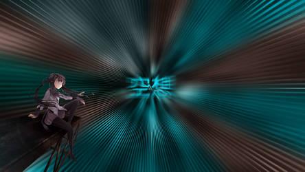 Anime Wallpaper 'Vision' 2012 by darkclouder