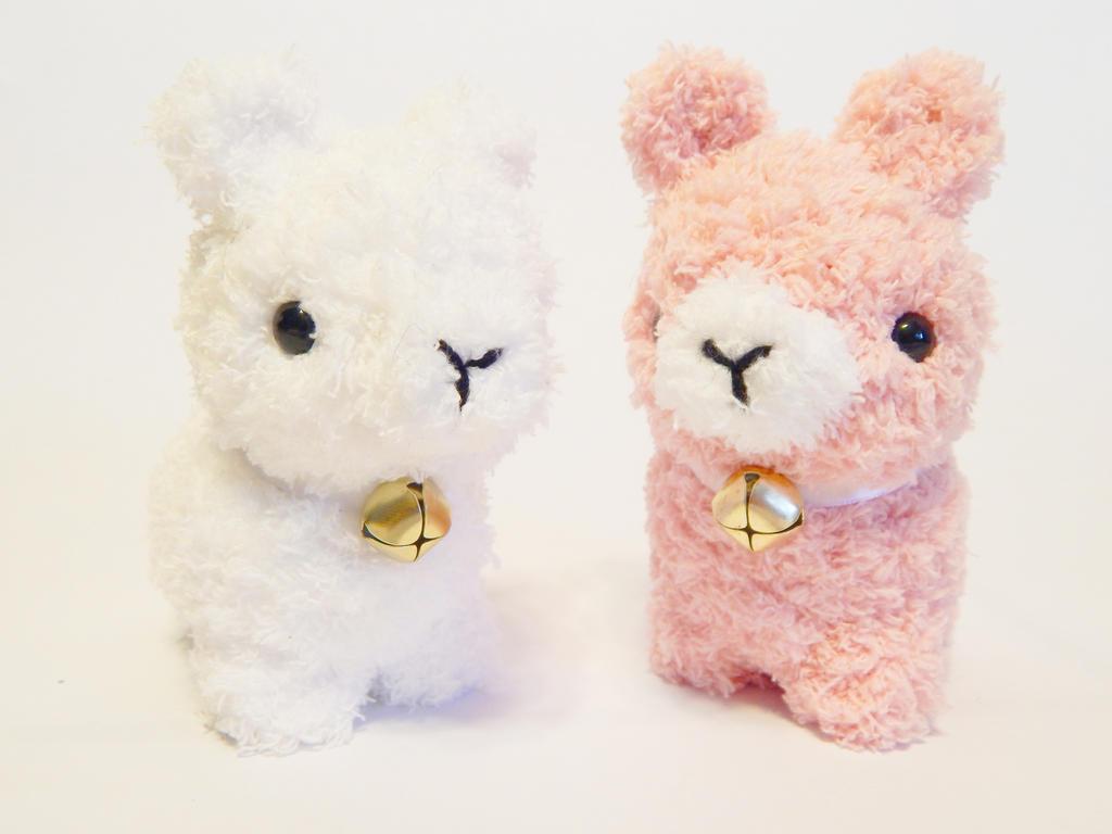 Amigurumi Alpaca : Amigurumi Stuffed Fluffy Soft Alpaca Plush by Sharrlaa on ...