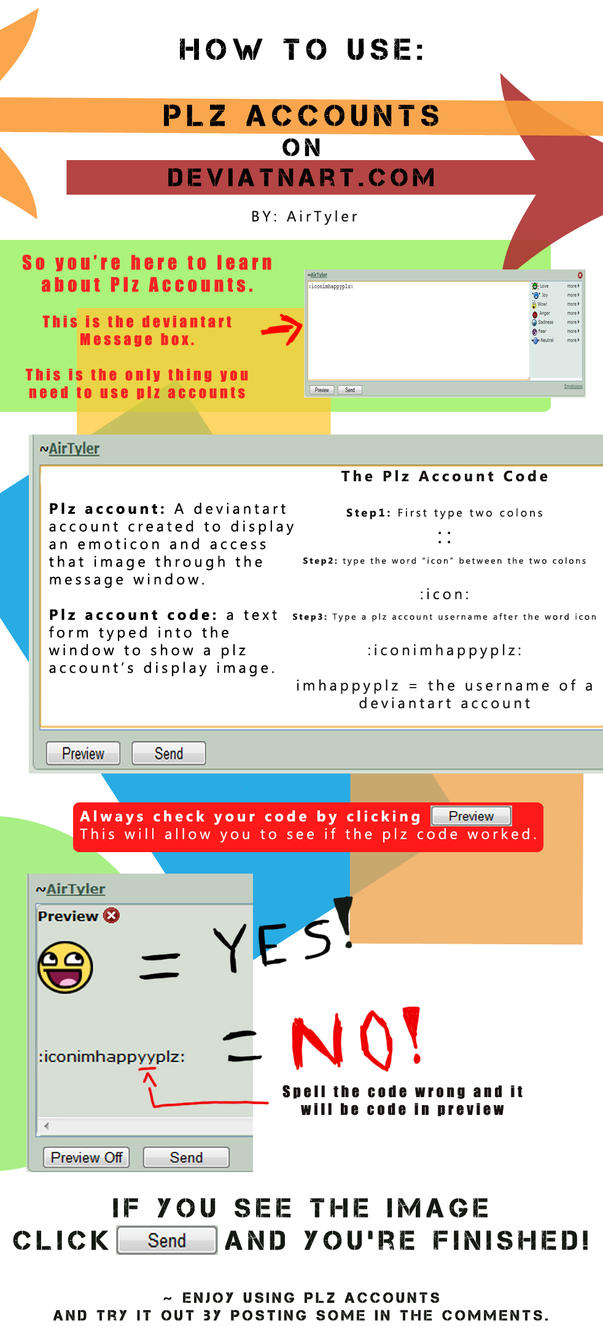 How to Use Plz Accounts by AirTyler