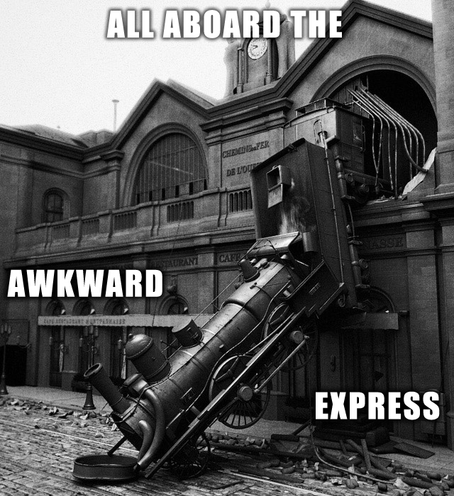 The Awkward Express by AirTyler