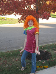 Me in my daphne costume