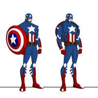 Captain America - DC Reboot Style by joaonorberto