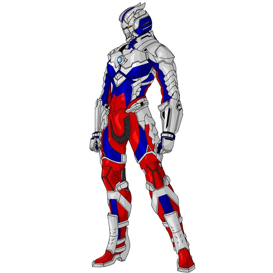 Ultraman Zero suit by joaonorberto