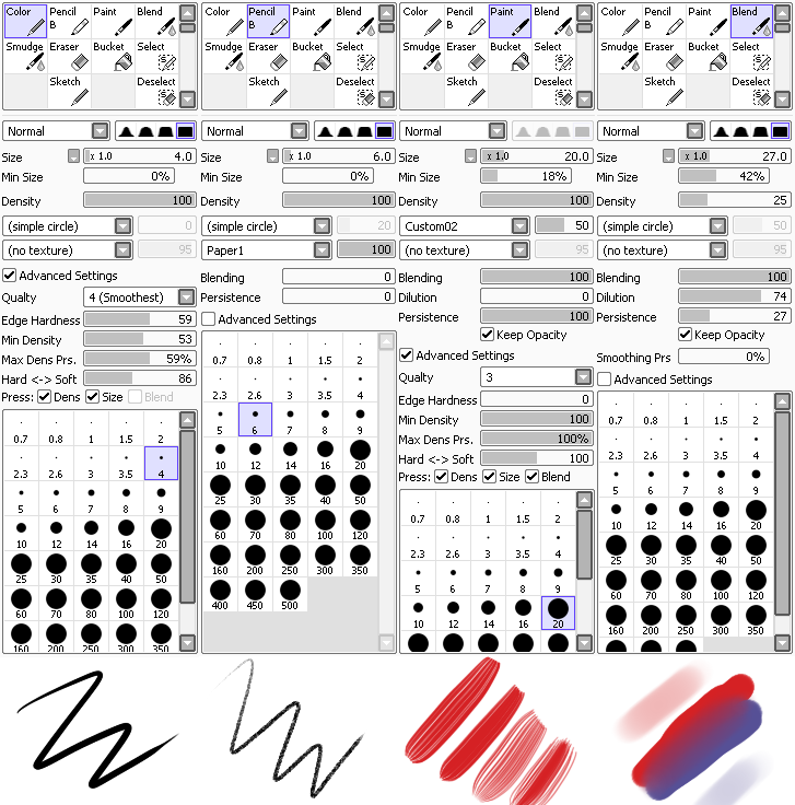 Paint Tool Sai Settings by MourantLune ...