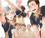 [Haikyuu!!] 3rd years