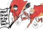 [Haikyuu!!] quidditch