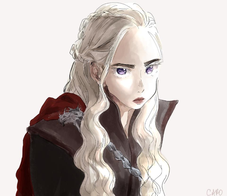 [GoT] Daenerys by a-zebra-was-here