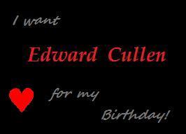 Edward Cullen for Birthday by Sygin123