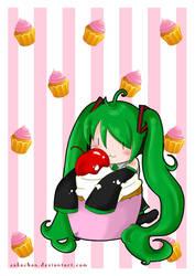 HMO Cherry Cupcake