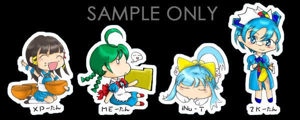 OS - tan mini cards by Sakachan