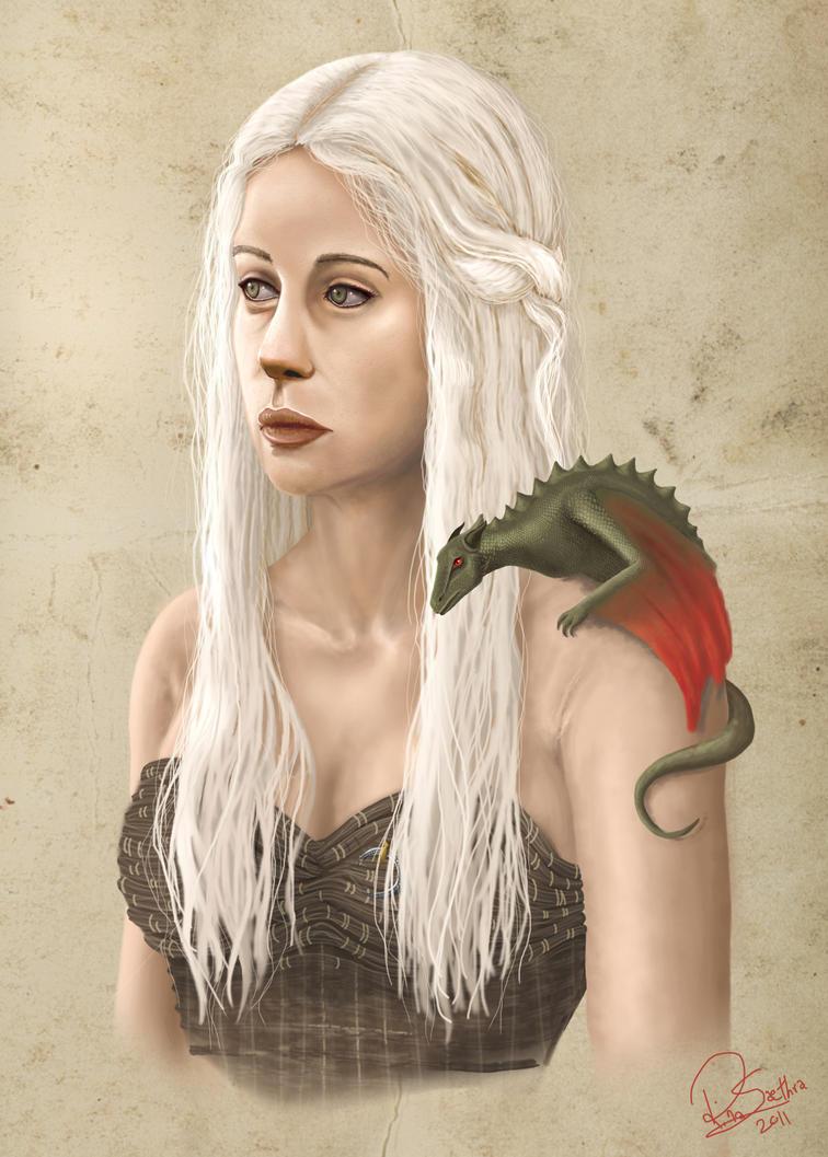 Daenerys Targaryen by Nebride
