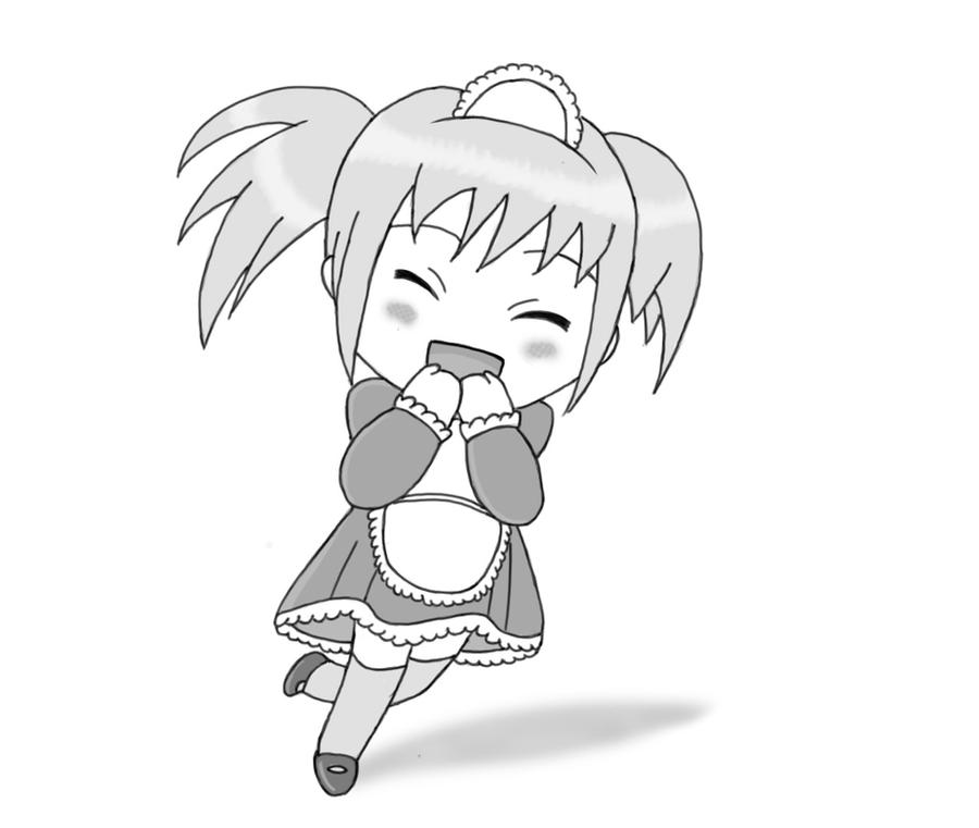 Happy excited Chibi by xAllaboutx on DeviantArt