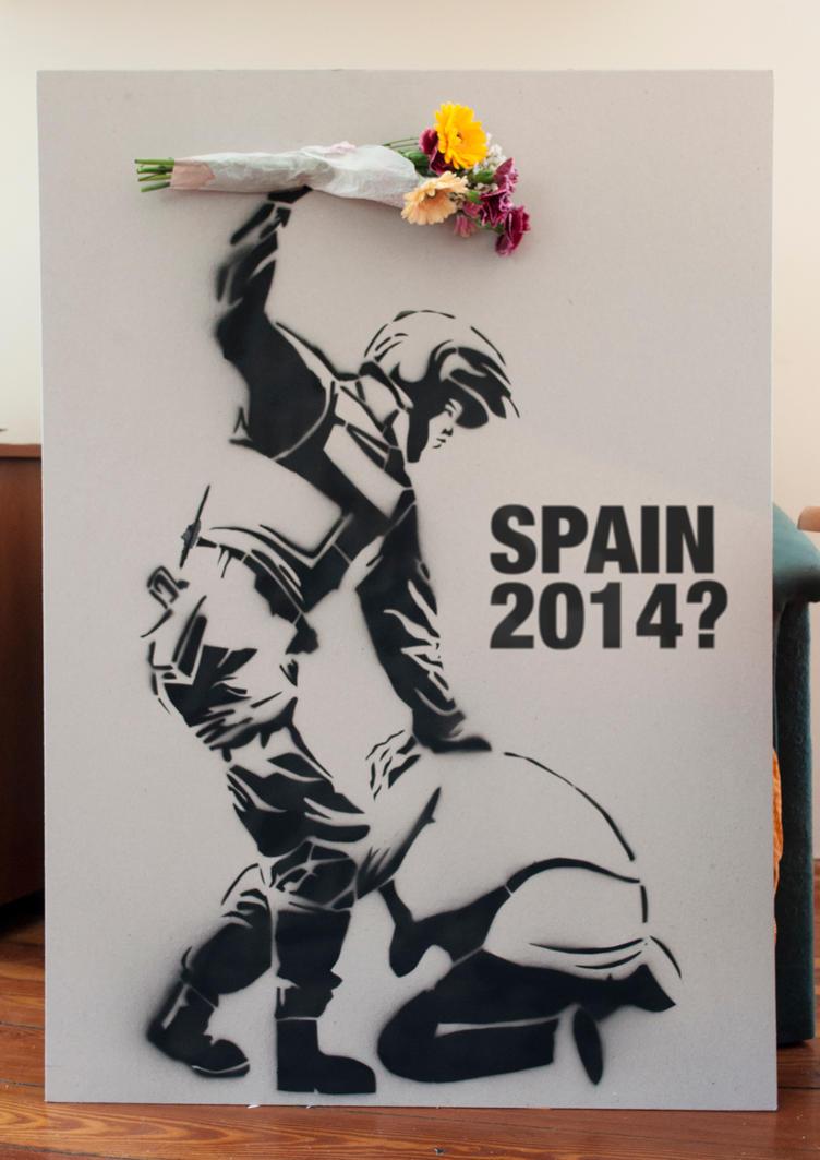 Interpretation Work Of Banksy Class By Brokenrubber On