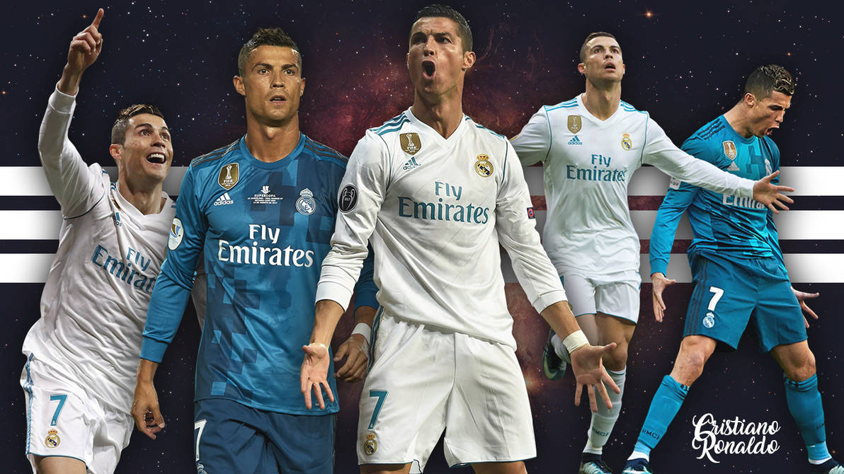 Cristiano Ronaldo Wallpaper Real Madrid Hd 4k By Ymarcosps On Deviantart