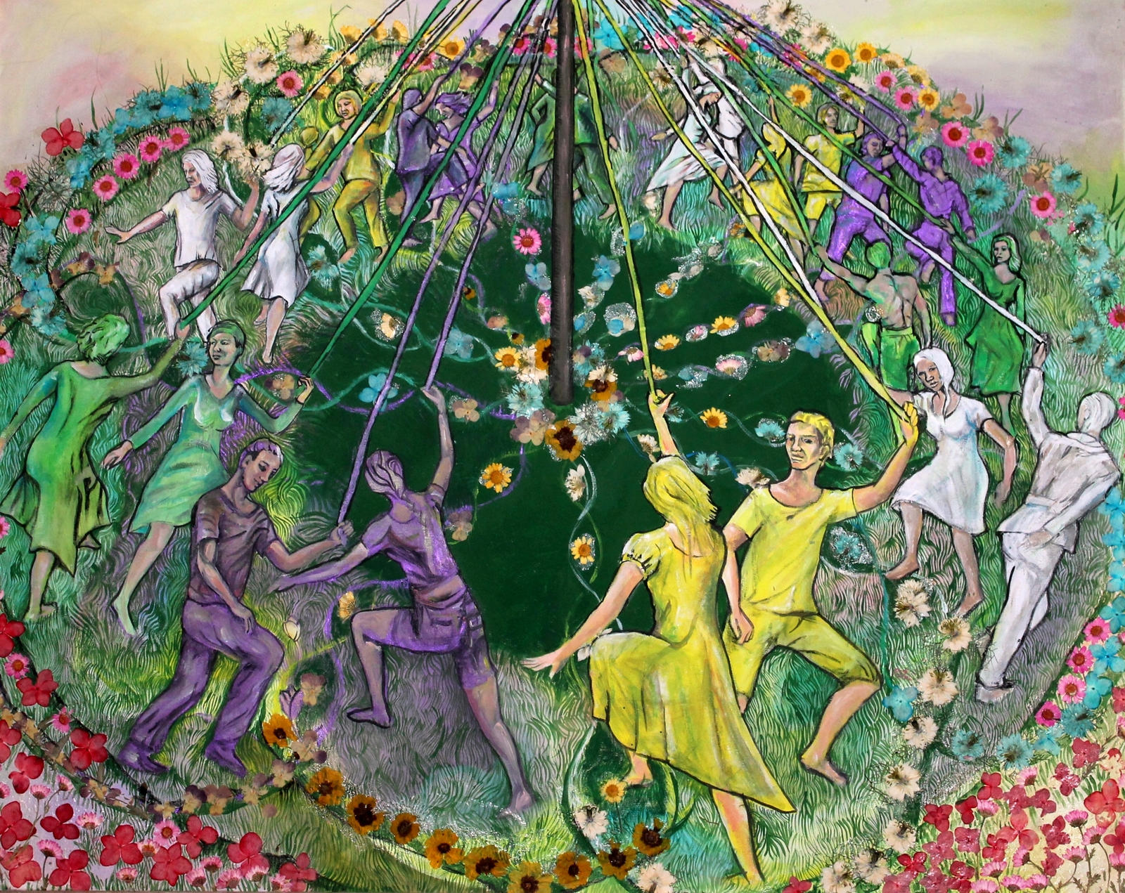 The Last Of The Maypole Dancers by illylou