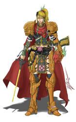 Samus Aran: Mystic Knight by CoronaDiTempesta