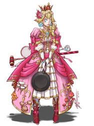 Princess Peach: War Cleric by CoronaDiTempesta