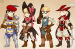 Earthbound Kids as Fantasy RPG Classes