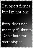 Anti-anti-furry, but not furry by Pokemon-TF-Fan