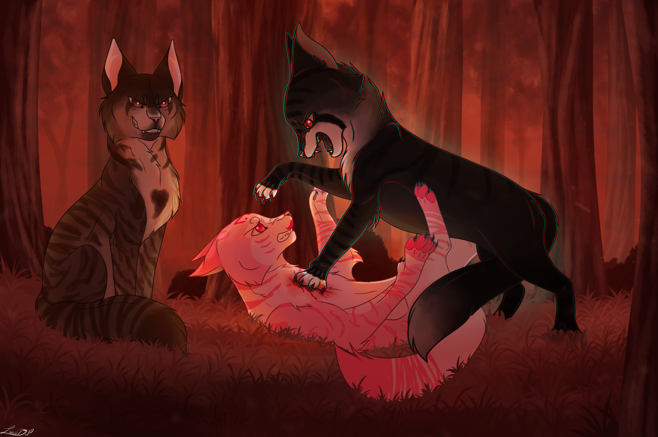 .:Commission:. Love hurts... by LULUVIP