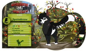 WoW| Spottedcrow |Medicine cat| Lakeclan by LULUVIP