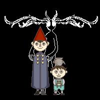 Wirt and Greg pixels by ogihciXichigo
