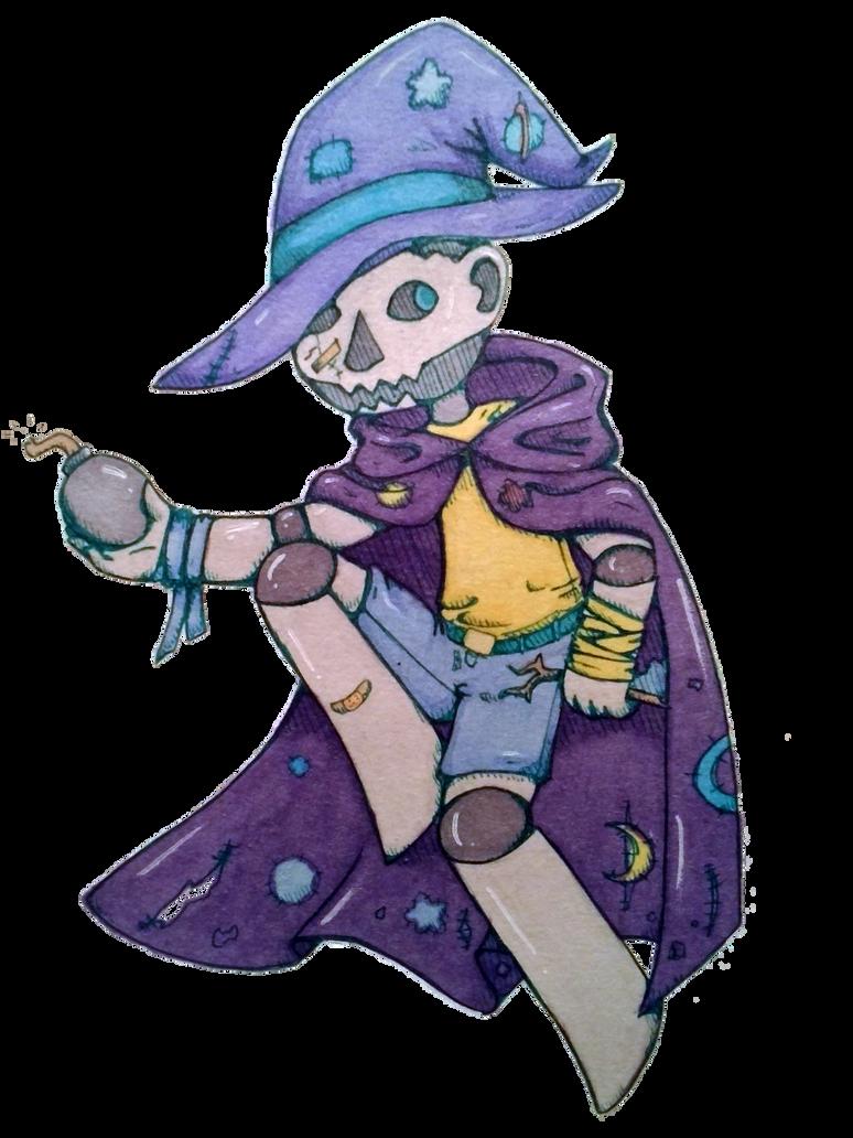 Trash Wizard by ogihciXichigo