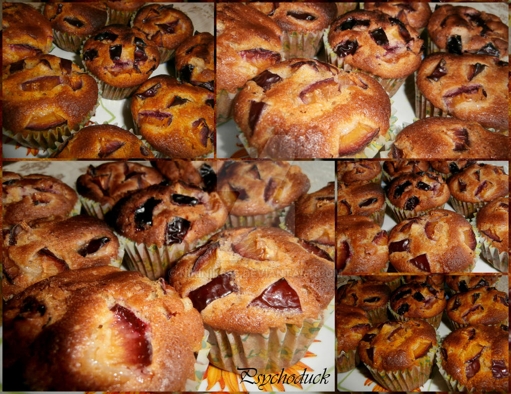 Muffins with prunes by nikinik666