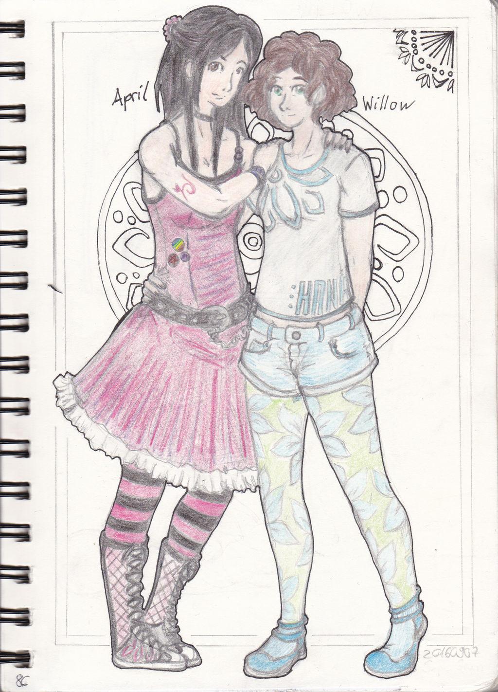 Willow und April by Sephigruen