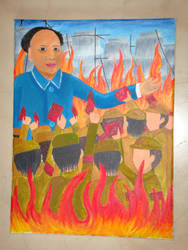 Retropective of Mao's rule by SabrieI
