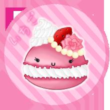 Ichigo Macaron by SabrieI