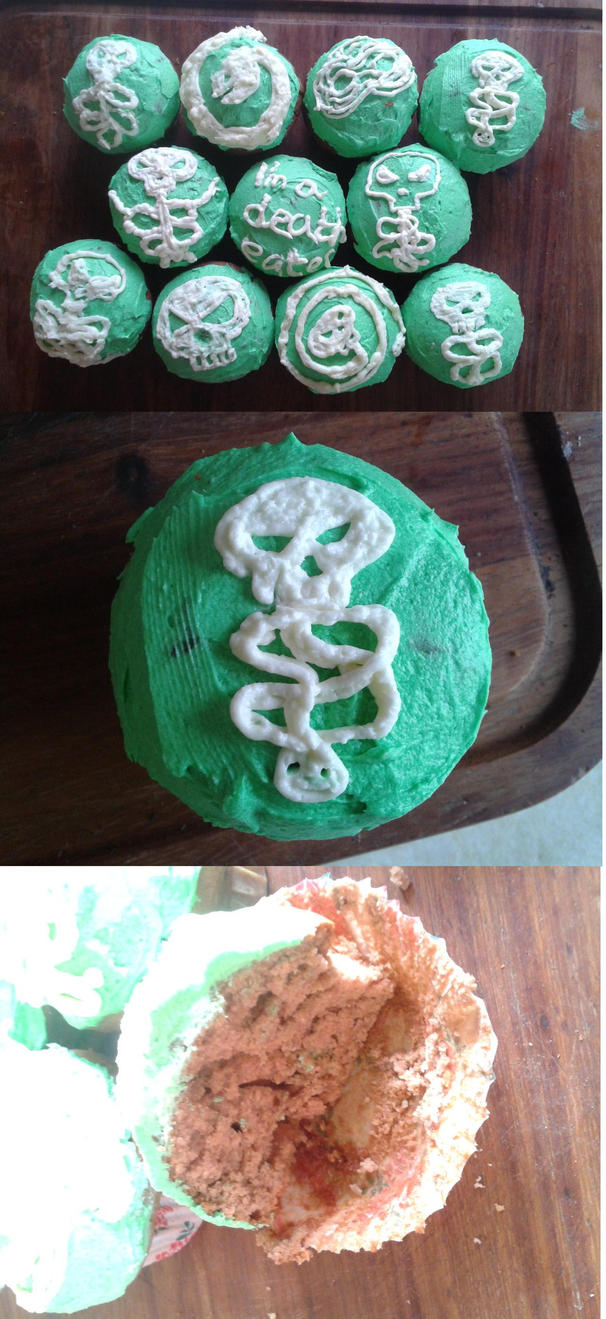 Death eater cupcakes by hurnahthecaveman on deviantart death eater cupcakes by hurnahthecaveman biocorpaavc Images