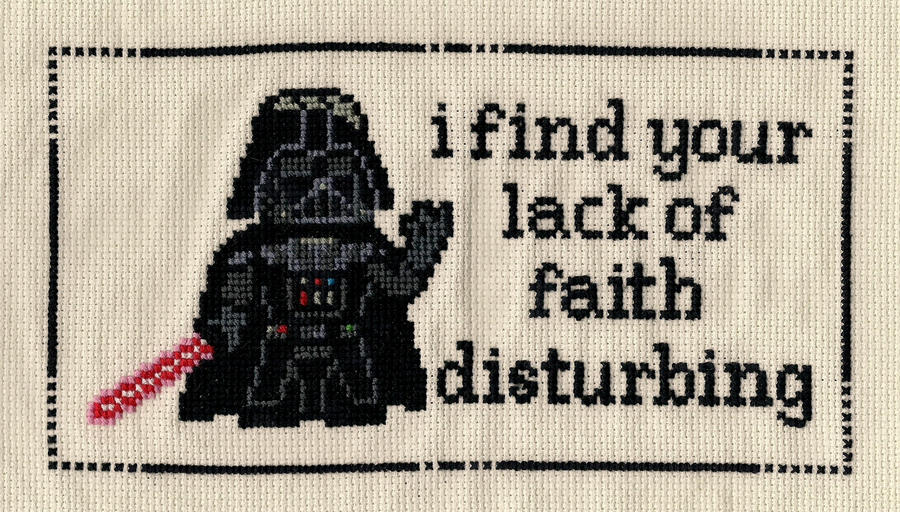Darth Vader X Stitch By Shellfx On Deviantart