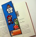 Mario-2 Bookmark X-Stitch