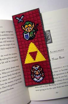 Zelda Bookmark X-Stitch
