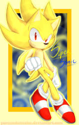 SUPER Sonic by yoruandnissoku